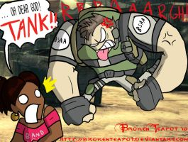 L4D + Chris Redfield equals... by BrokenTeapot