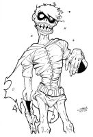 Zombie Robin - finished lines by OrcaDesignStudios