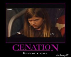 Cenation Disapproves by dachamp21X