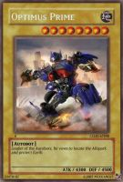Optimus Prime card by Mexicano27