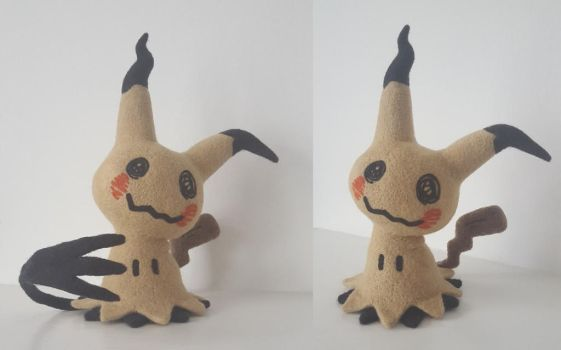 Mimikyu needlefelt by Wool-Alchemist