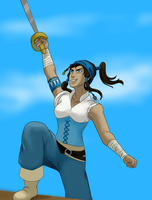 Captain Korra by elven-thespian