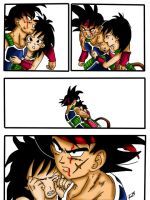 bardock and gine comic by tikitimami