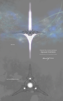 Quasar Fortress, HQ of the Archknight Order by StellarStateLogic