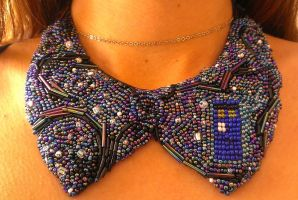 Beaded collar by ornate-simplicity