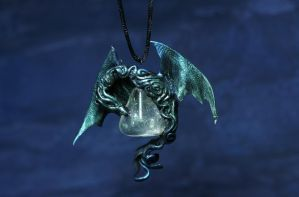 dragon pendant by kessan