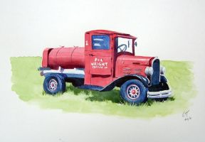 The Old Truck by ronnietucker