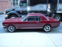 1965 Ford GT Mustang III by Brooklyn47