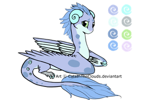 AUCTION- CLOSED Munchkin Dragon Adopt1 by CatsInTheClouds