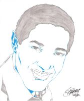 SAM COOKE PENCIL by Artistik-Bootya