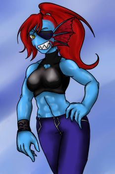 Undyne by NailahOtter
