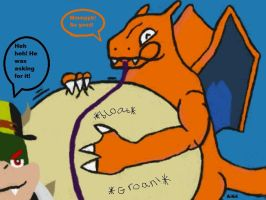 Inflated Dragozard by Ai64