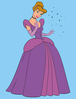 Purple Cinderella by Zanny-Marie