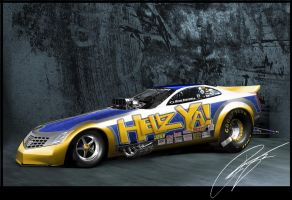 Cadillac Evoq Funny Car by remingtonbox