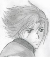 FFVII - Zack Fair by Squarifa