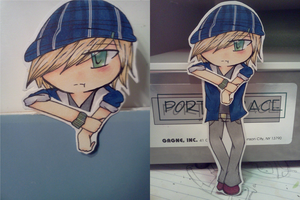 Bookmark Cutout 1 - Leo by donutpolice