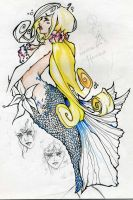 Princess Mermaid by sjf9687