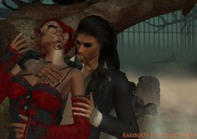 Dark Embrace by karibous-boutique