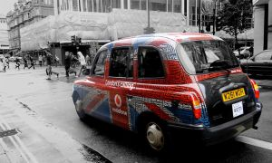 UNION JACK CAB by ANOZER