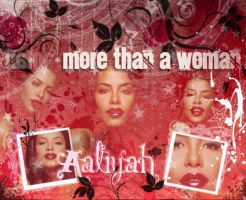 Aaliyah  More than a woman by Divainprogress88