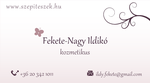 Business card for a beautician by fbakos