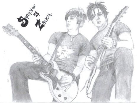 Synyster and Zacky.. by Mama-Moomin
