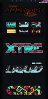 Free Abstract Styles for Photoshop CC by aanderr