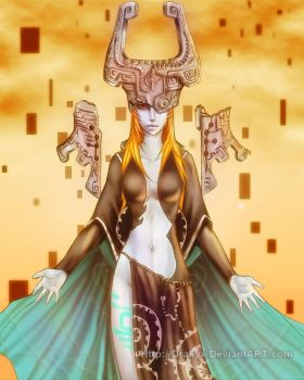 Midna - Fused Shadow by Drakyx