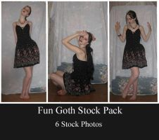 Fun Goth Stock Pack by 3corpses-in-A-casket