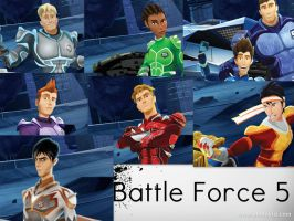 Battle Force 5: Fused by spottedparr