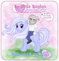 My Little Ranyhyn by zorm