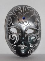 Silver mask by Mithgariel-stock