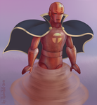 Red Tornado - Young Justice Style by RobnRoll