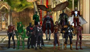 The Justice League of Earth-2X by WOLFBLADE111