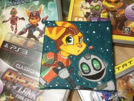 Tiny Ratchet and Clank by C-Puff