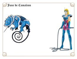 June de Camaleon by Javiiit0