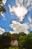 Laotian Skies by drewhoshkiw