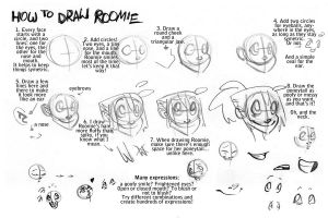 How to Draw Roomie by batlesbo