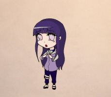 Hinata-Chibi Colored by MrGilbertBeilschmidt