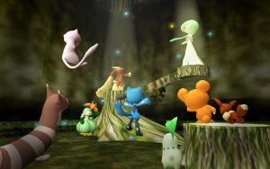pokemon forest by VICTOR2012