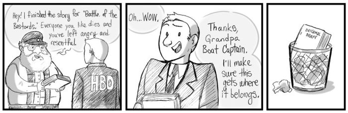 Game Of Thanks But No Thanks by RemnantComic