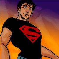 Drawble: Superboy by lorainesammy