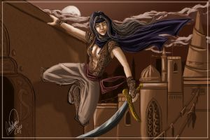 Sera as the Princess of Persia by shadowyzman