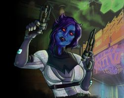 - SWTOR:  Nar Shaddaa Nights - by Elizabeth-Ryan