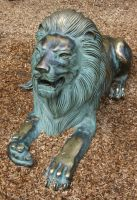 Tautphaus Zoo 47 Lion Statue by Falln-Stock
