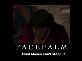 Moses Facepalm by greece4life