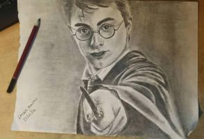 Harry Potter by kornilicious