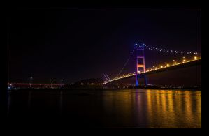 Tsing Ma Bridge by WiDoWm4k3r