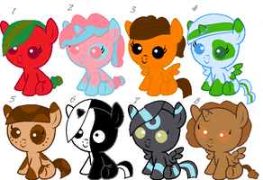 Mlp Guess the them adopt by NeVerDark1211