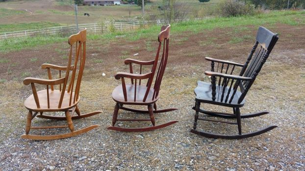 Rocking chairs 2 by Simplytina